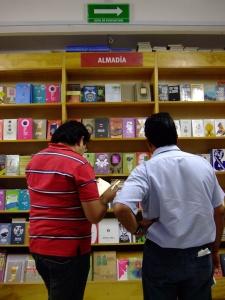 Almadía shelves in Proveedora Escolar