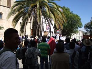Demonstration against privatizing oil