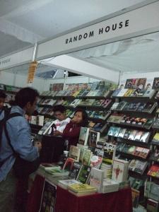 Random House stall at Oaxaca book fair