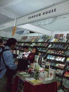 Random House stall at Oaxaca book fair